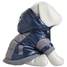 Aspen Vintage Dog Ski Coat with Removable Hood