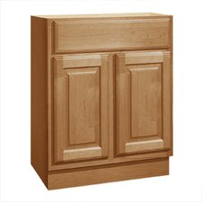 "Salerno Series 24"" Maple Bathroom Vanity Base"