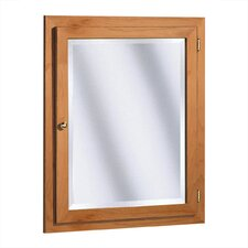 "Salerno Series 24"" x 30"" Maple Surface Mount or Recessed Medicine Cabinet in Cider Finish"