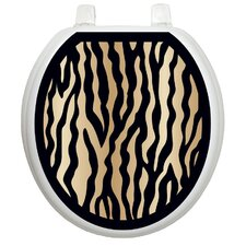 <strong>Toilet Tattoos</strong> Classic Zebra Toilet Seat Decal