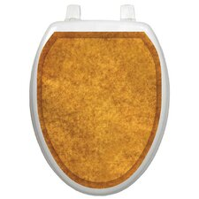 <strong>Toilet Tattoos</strong> Classic Caramel Sponge Toilet Seat Decal