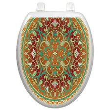 Classic Medallion Toilet Seat Decal