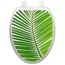 <strong>Toilet Tattoos</strong> Themes Palm Frond Toilet Seat Decal