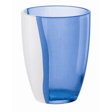 Happy Hour Two Toned Soft Drink Glass in Light Blue