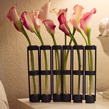 Movable Six Tube Hinged Vase