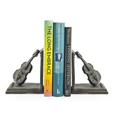 Violin Bookend (Set of 2)