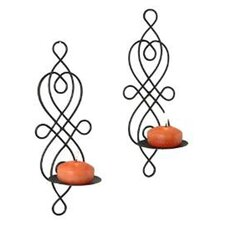 Wire Twisted Candle Sconce (Set of 2)