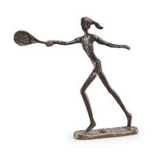Female Tennis Player Sculpture