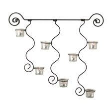 Curly Wall Sconce Candle Holder