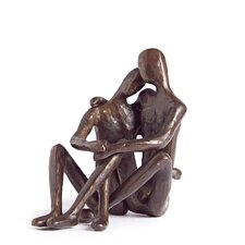 Gay Couple Sitting Figure