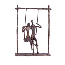 Couple on a Swing Figurine