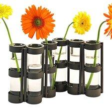 Beechmont Hinged 6 Vial Vase in White