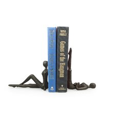 Ladies Stretching Bookend (Set of 2)