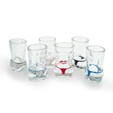 Male Torso Hunk Shot Glass (Set of 6)