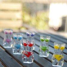 Lady Torso Bikini Shot Glass (Set of 6)