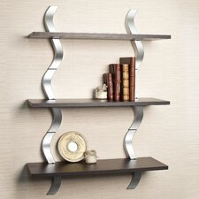 Waves 3 Level Shelving System
