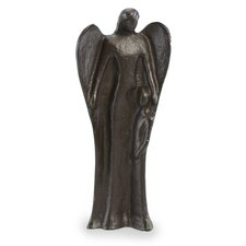 Guardian Angel Iron Sculpture