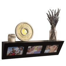 Decorative Wall Shelf with Built in Frames