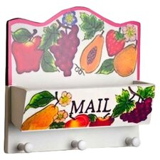 Fruit Key & Mail Holder