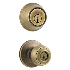 <strong>Kwikset</strong> Entry Door Knob and Deadbolt Combo