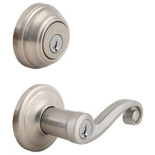 Lido Keyed Entry Door Lever