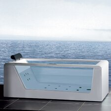 "Platinum 59"" x 25.6"" Whirlpool Bathtub"