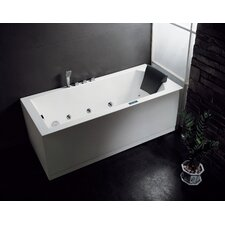 "Platinum 59"" x 31.5"" Whirlpool Tub"