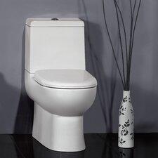 Platinum Camilla Dual Flush Elongated Toilet 1 Piece
