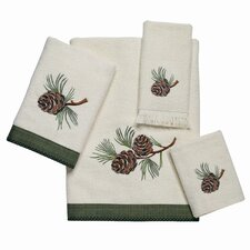 Pine Creek 4 Piece Towel Set