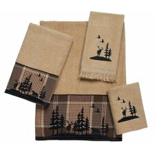 <strong>Avanti Linens</strong> Woodlands 4 Piece Towel Set