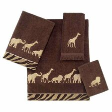 <strong>Avanti Linens</strong> Animal Parade 4 Piece Towel Set