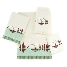 Gone Fishing 4 Piece Towel Set