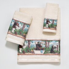 Taking Care of Business 4 Piece Towel Set