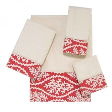 <strong>Avanti Linens</strong> Coral Clay 4 Piece Towel Set