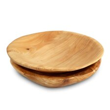 Round Root Plate (Set of 2)
