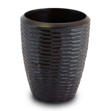 Casual Dining Utensil Vase in Chocolate