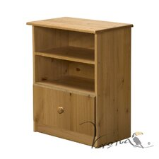 Gela 2 Shelf and Drawer Bedside Table