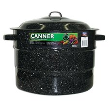 21.5-Quart Graniteware Canner