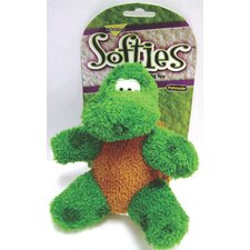 Softies Terry Toby Turtle Dog Toy