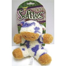 Softies Terry Cow Dog Toy