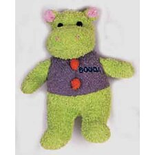 <strong>BOODA Pet Products</strong> Terry Hippo Dog Toy