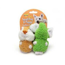 <strong>BOODA Pet Products</strong> Terry Elephant/Chipmuck Dog Toy (2 Pack)