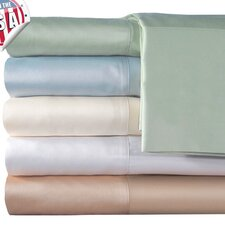 <strong>Veratex, Inc.</strong> Supreme Sateen 300 Thread Count Solid Pillowcase (Set of 2)