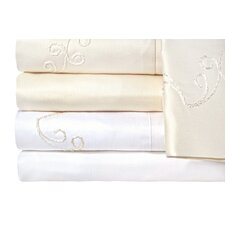 <strong>Veratex, Inc.</strong> Supreme Sateen 1200 Thread Count Scroll Sheet Set