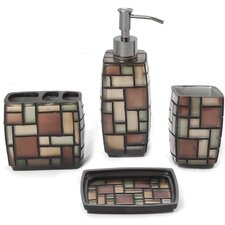 Zephyr 4 Piece Bath Set