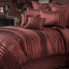 Aiden European Sham in Pomegranate