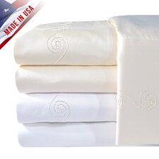 Supreme Sateen 1200 Thread Count Swirl Sheet Set