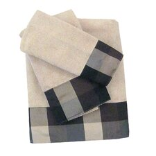 Oxford 3 Piece Towel Set