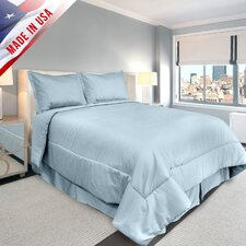 <strong>Veratex, Inc.</strong> Supreme Sateen Comforter Set