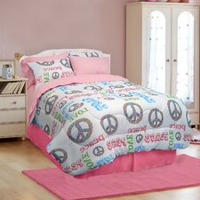 <strong>Veratex, Inc.</strong> Peace and Love Bedding Collection